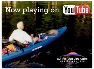 Now playing on YouTube; White Potato Lake Outfitters.